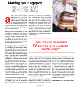 …have you ever thought how TV campaigns drive online search usage?