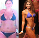 Casey Sugden's transformatiom from overweight to fit. She is now competing in the USN Cover Search